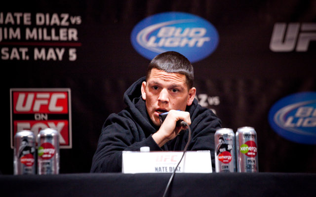 UFC suspends Nate Diaz for homophobic slur