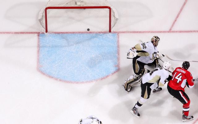 (Video) Pittsburgh Penguins 1-2 Ottawa Senators: NHL highlights