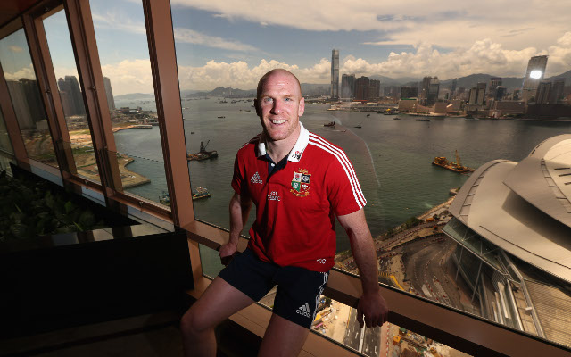 Ireland's Paul O'Connell to lead Lions against Barbarians