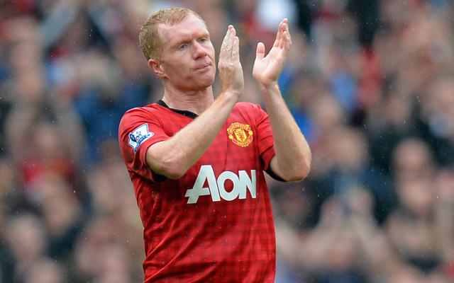 Paul Scholes Manchester United