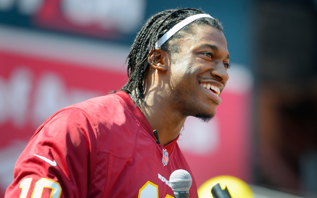 Washington Redskins pick up 5th-year option on Robert Griffin III's contract