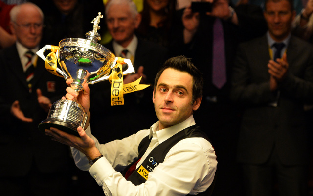 Ronnie O'Sullivan beats Barry Hawkins to win fifth World Snooker Championship
