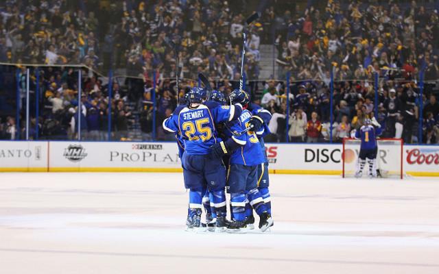 (Video) LA Kings 1-2 St Louis Blues: NHL highlights