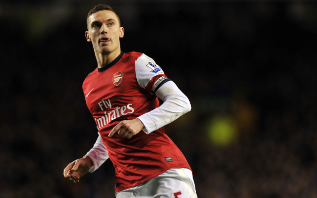 Barcelona lodge official £10m offer for Arsenal's Thomas Vermaelen