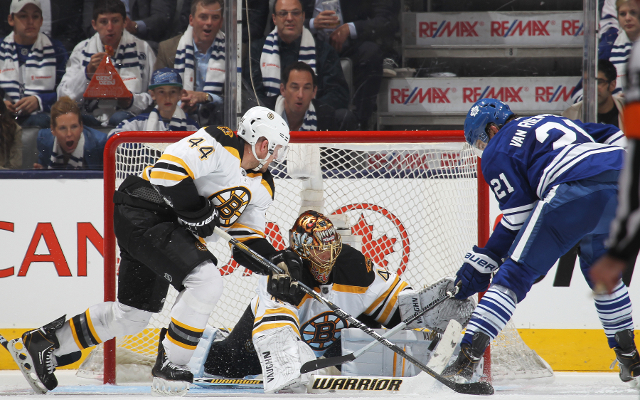 (Video) Boston Bruins 1-2 Toronto Maple Leafs: NHL highlights