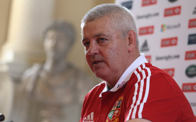 Warren Gatland wants to coach British & Irish Lions against All Blacks