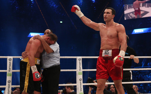 Wladimir Klitschko vows to win back the WBC heavyweight title for his family