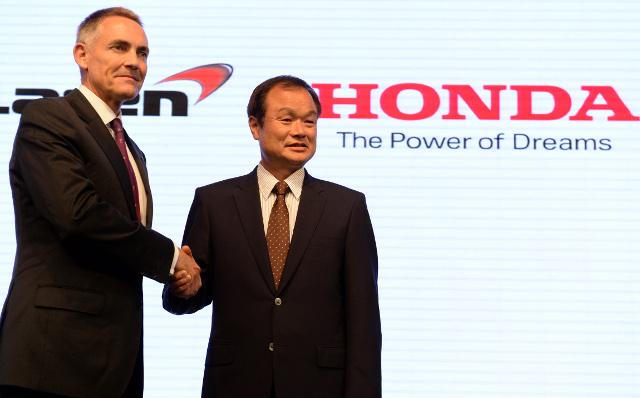 Honda confirm partnership deal with McLaren to start in 2015