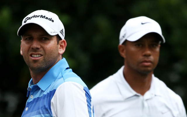 Sergio Garcia claims his feud with Tiger Woods is over