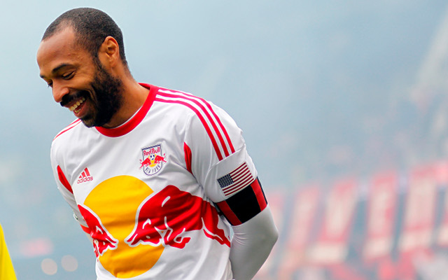 (GIF) Arsenal legend Thierry Henry scores stunning golazo for New York Red Bulls