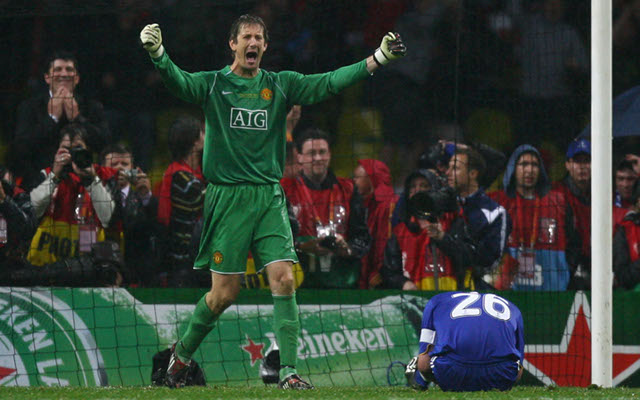 van der sar Man united terry chelsea