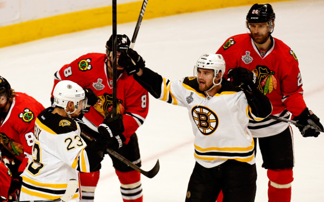 Boston score overtime win in Stanley Cup against Chicago Blackhawks