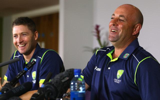 (Video) Adelaide Crows ruckman Sam Jacobs interviews Australian cricket coach Darren Lehmann