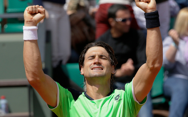 David Ferrer cruises into French Open quarter finals with straight-sets win