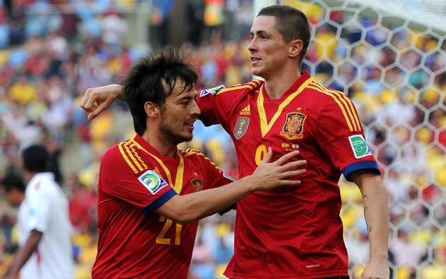 Defending champions Spain announce squad for 2014 World Cup including Arsenal's Cazorla and Chelsea duo