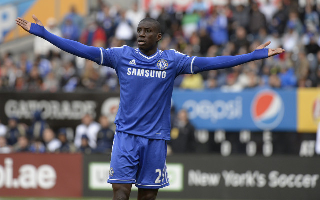 Tottenham join Arsenal in the race to sign Chelsea striker Demba Ba