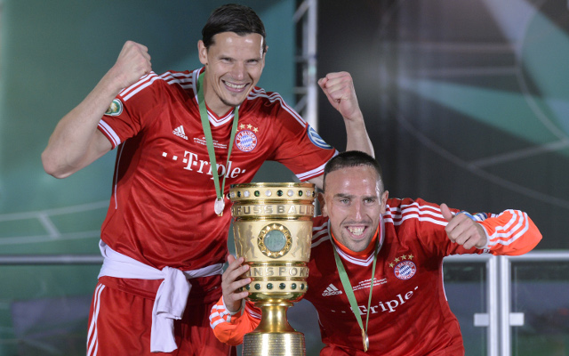 Franck Ribery signs two-year contract extension with Bayern Munich