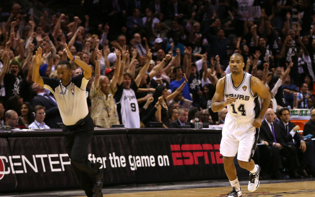 (Video) NBA Finals: Gary Neal's buzzer-beating three for San Antonio Spurs