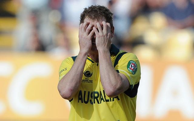 Cricket World Cup 2015: Australia captain George Bailey faces axe for clash with Bangladesh