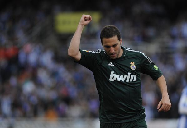 Gonzalo Higuain Real Madrid