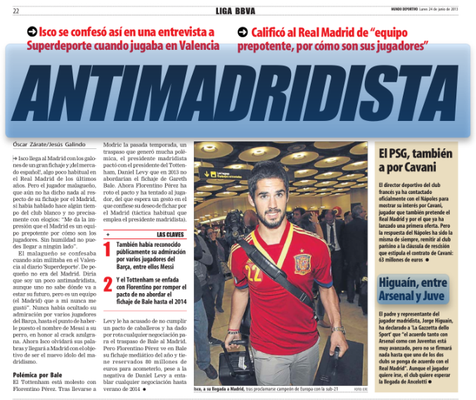 Isco Antimadridista