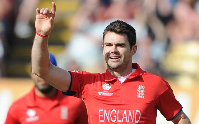 James Anderson alone at the top of England's top bowlers list