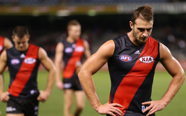 AFL injury news: Jobe Watson to miss 8-10 weeks for Essendon