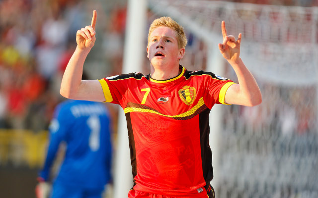 Kevin De Bruyne Belgium