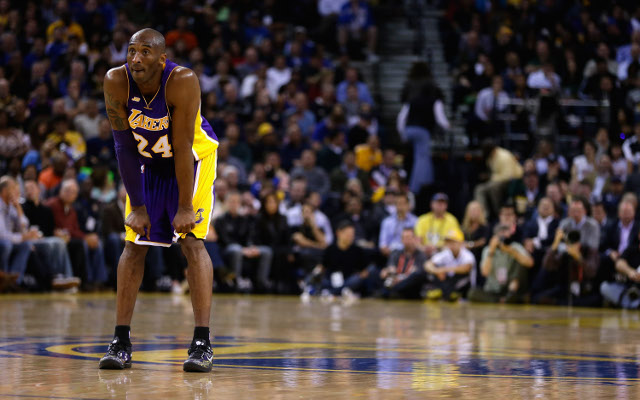 Lakers star Kobe Bryant names his All-Time starting five
