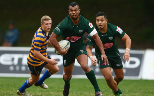 Kurtley Beale on the rebound towards Wallaby squad