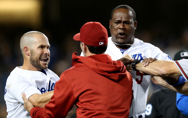 Bench-clearing brawl spoils Dodgers-Diamondbacks game