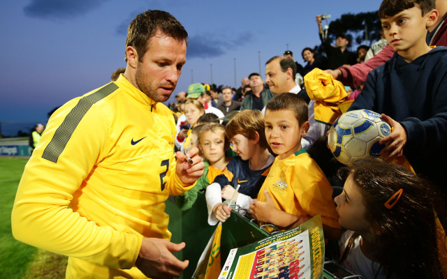 Lucas Neill urges young Socceroos to grasp life-changing Brazil opportunity
