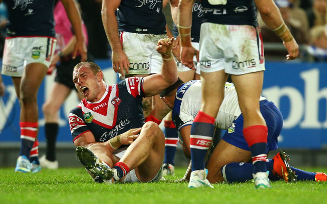Report: Sydney Roosters prop Martin Kennedy facing two-year drug ban