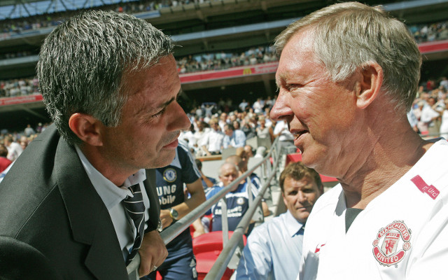 Chelsea boss Jose Mourinho holds secret Paris meeting with Sir Alex Ferguson