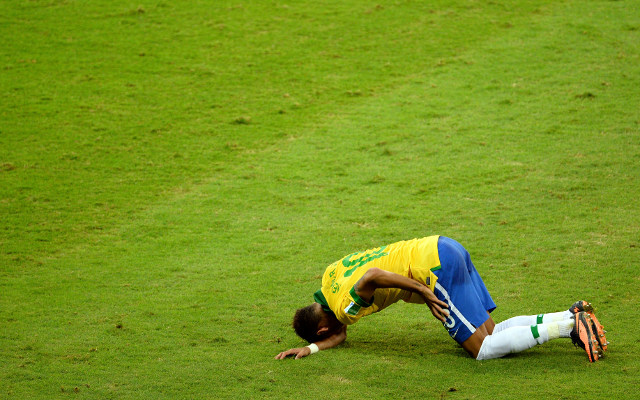 (GIF) Proof Brazil and Barcelona sensation Neymar is a theatrical diver
