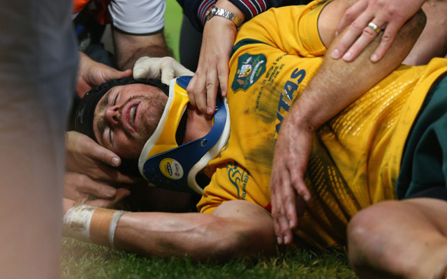 Wallabies and Brumbies outside back Pat McCabe forced to retire