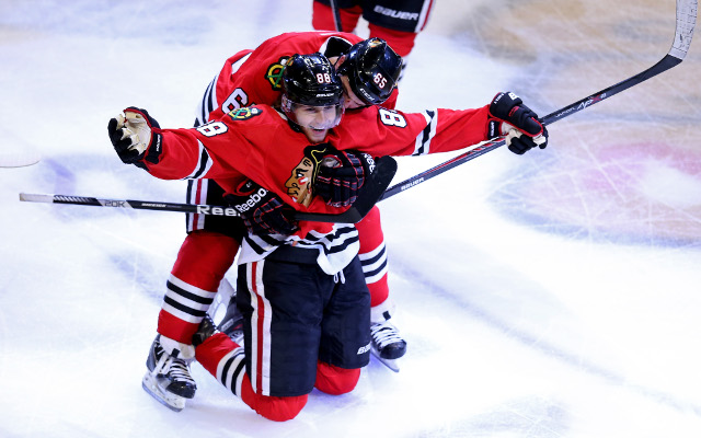 Patrick Kane hat-trick pushes Chicago into Stanley Cup finals