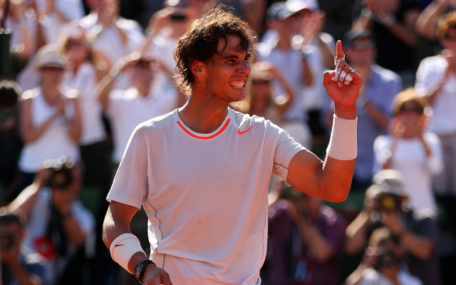 Rafael Nadal aiming for a place in history in French Open final