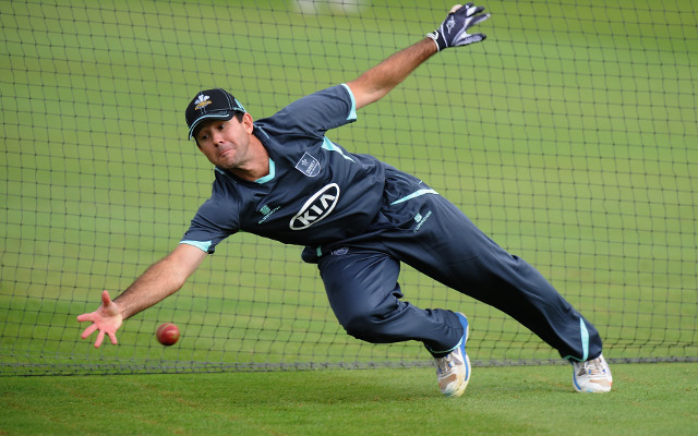 (Video) Ponting shows he is still in from with debut century for Surrey