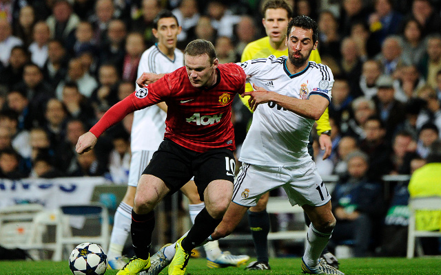 Rooney Arbeloa Football