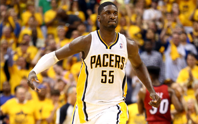 NBA fines Indiana centre Roy Hibbert after gay slur