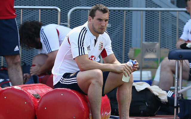 Lions captain Sam Warburton close to returning to action