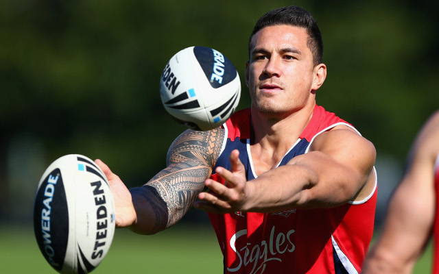 Sonny Bill Williams says he will re-sign with the Sydney Roosters