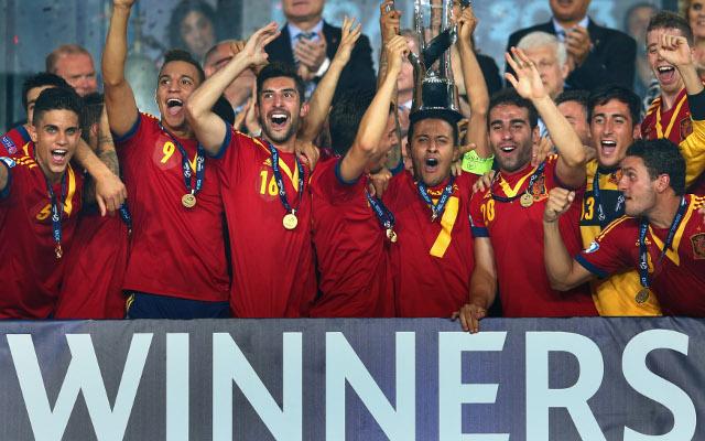 Spain U21 UEFA European Championship 2013 win
