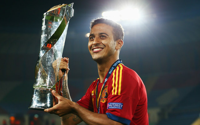 New Man United boss David Moyes rejected the chance to sign Thiago Alcantara