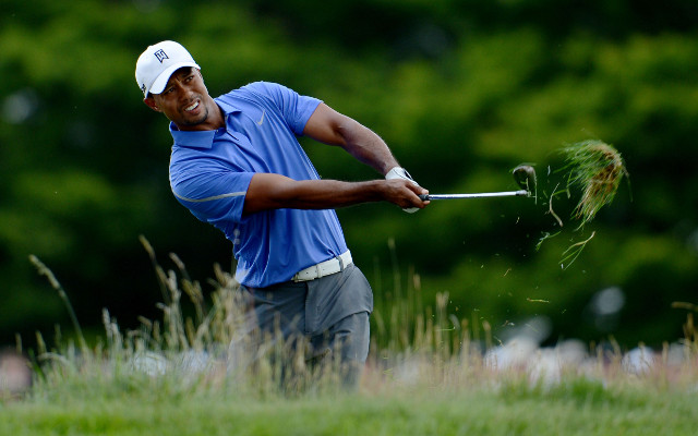 Wrist injury hampers Tiger Woods' US Open chances