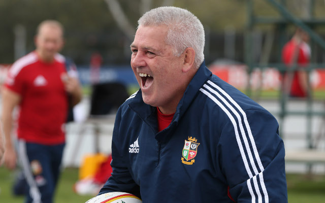 Lions coach Warren Gatland kicks wounded Wallabies while they're down