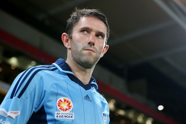 Sydney FC squad is still strong without Griffiths, says captain McFlynn