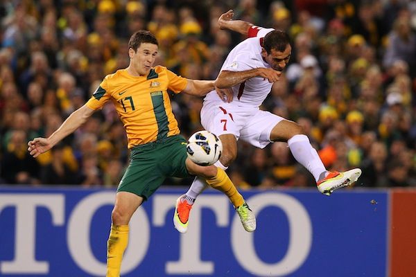 Matt McKay prepared to deal with competition for Socceroos place