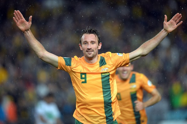 Josh Kennedy absent for Australia after Nagoya Grampus refuse his release